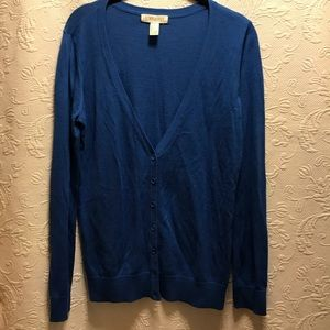 Forever 21 Blue Cardigan size Small